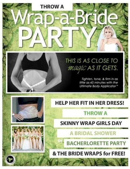 it works throw a bride party