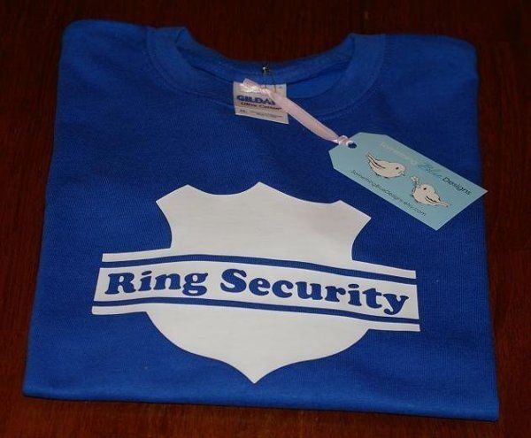 "Ring Bearer - ""Ring Security"""