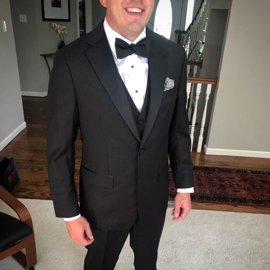 Stylish tuxedo