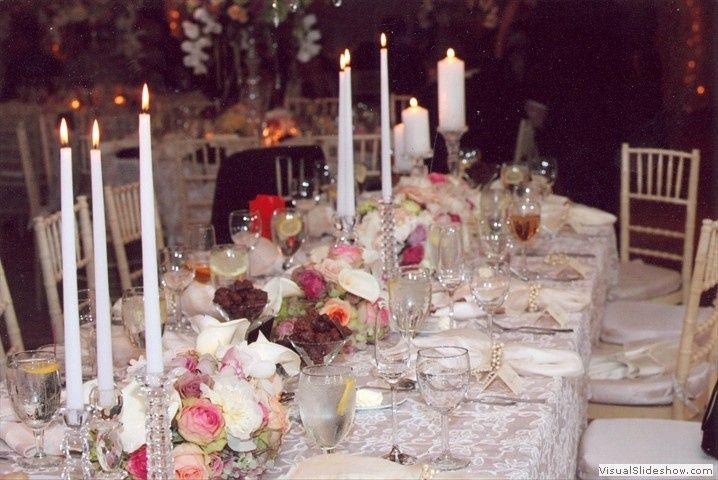 brides table