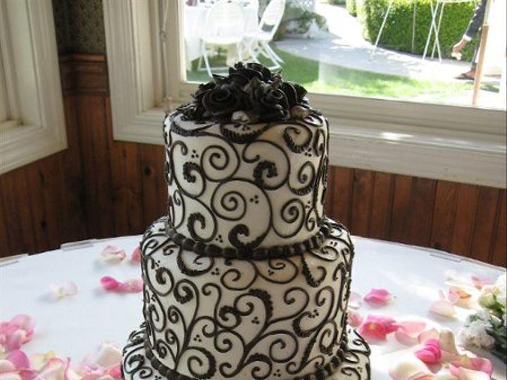 Tmx 1227124256146 IMG 0545 Atascadero wedding cake