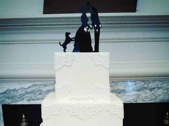 Tmx 1466455494515 944698101025233100436655005162630884416361n Fuquay Varina, North Carolina wedding cake