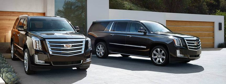 Luxury SUV for the wedding party
