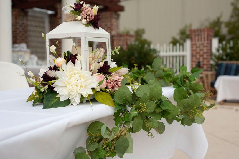 Lantern table decoration.