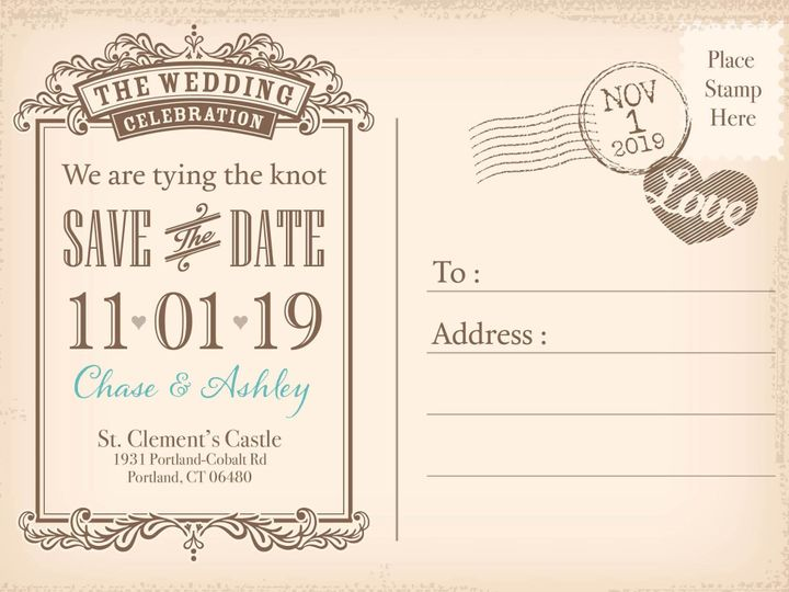 Tmx 1499968807847 Save The Date Rocky Hill wedding invitation