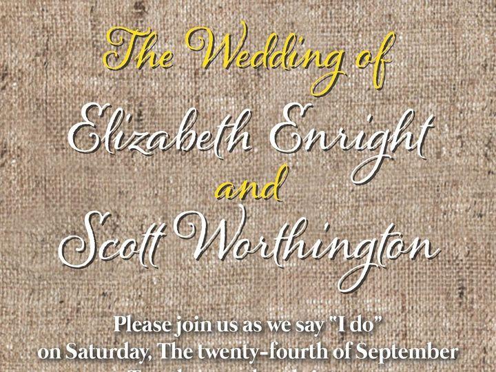 Tmx 1499968819548 Sunflower Rocky Hill, CT wedding invitation