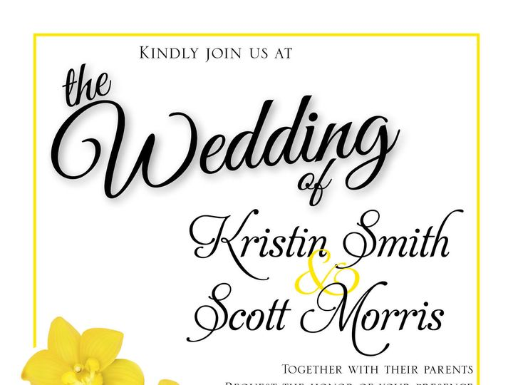 Tmx Yellow Flowers 51 981265 161167789488417 Rocky Hill, CT wedding invitation