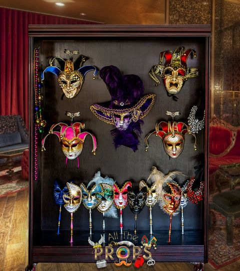 Our imported Venetian masks