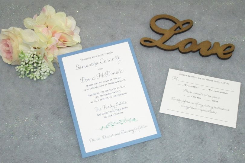 2 layer invitation