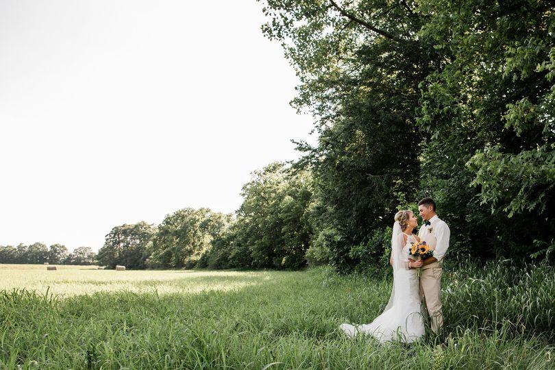 Romantic, farm wedding