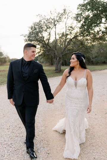 Winter Wedding in El Campo, TX