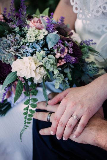 Rings and Bouquet