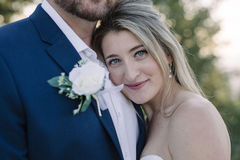 Bride's Gorgeous Smile