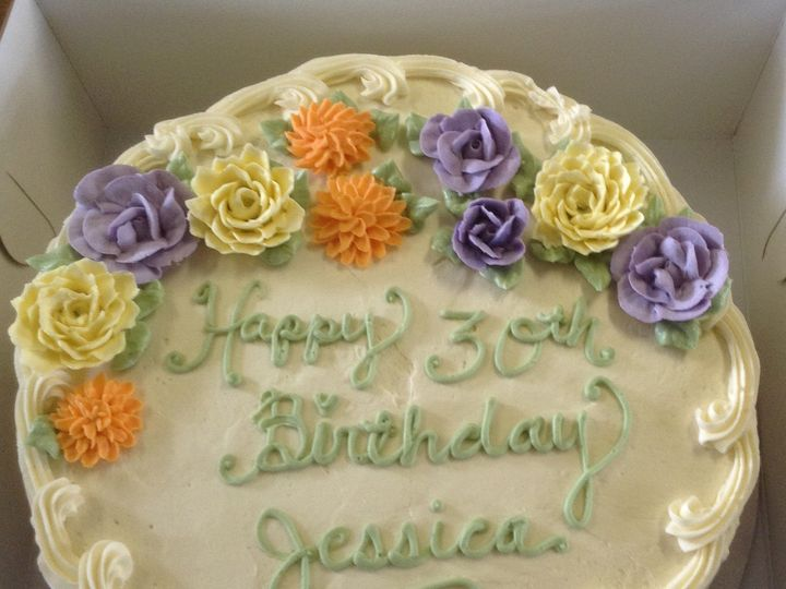 Tmx Birthday Cake Carrot Cake 51 1034265 Pawcatuck, CT wedding cake
