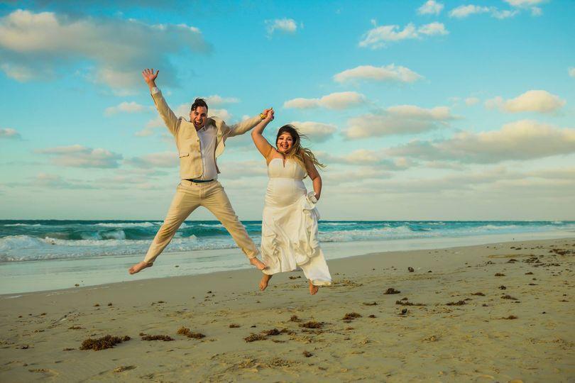 Fotos creativas de la boda