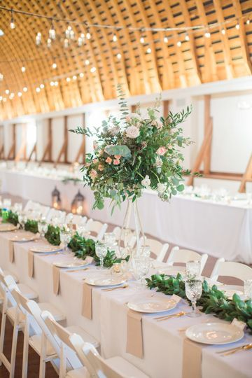 Reception in The Loft