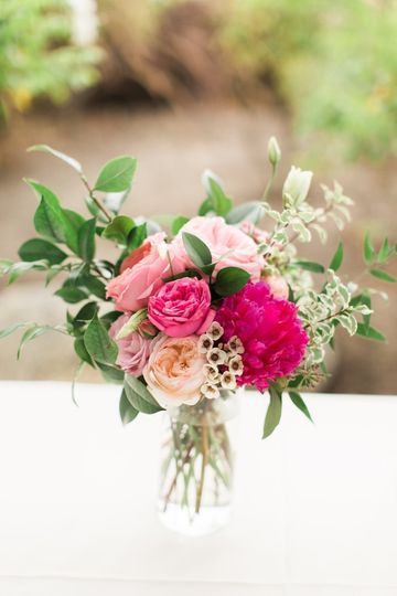 Peony and Garden Rose - Royal Bee Florals and Events