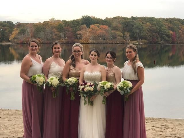 Bridal Party Beach Pictures