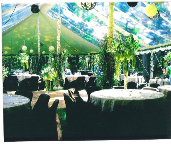 Our Clear Span Tent