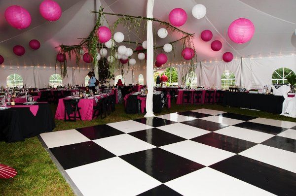 A Black and White Wedding