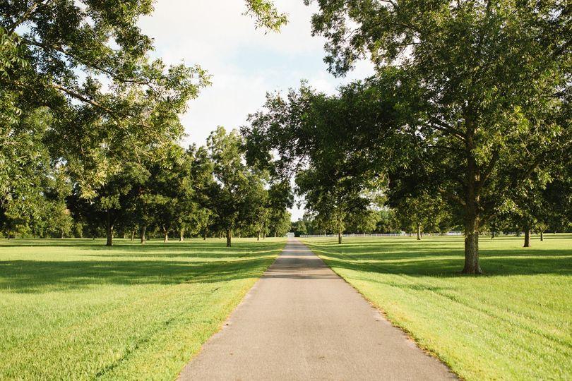 Stately path to the elegant estate