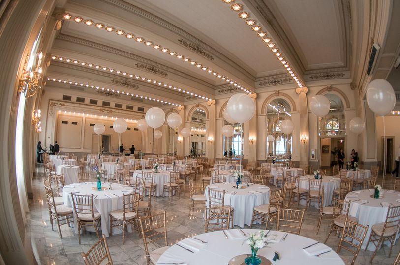 Large reception room