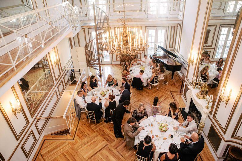 Reception in the Grand Salon