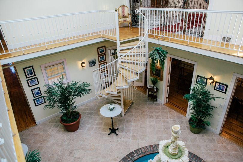 The Atrium at the James Ward Mansion is the perfect location to hold your cocktail reception or post...