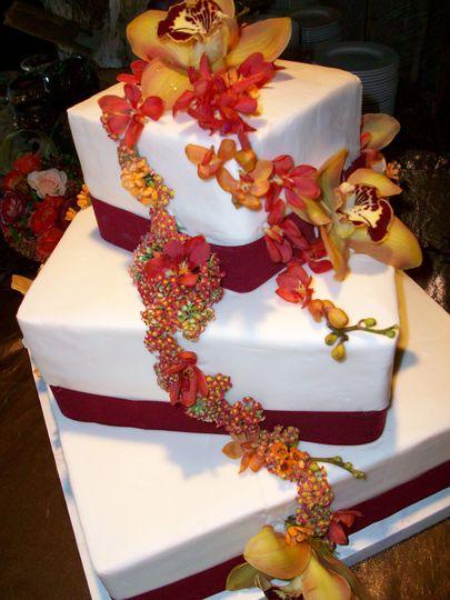 Floral cake embellishments