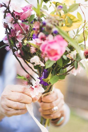 A vibrant arrangement
