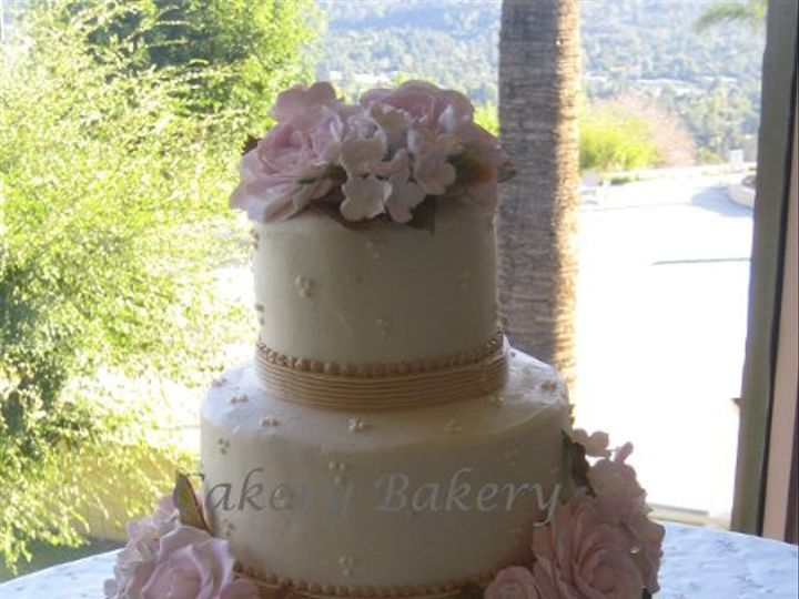 Tmx 1275529667215 IMG08892 La Canada Flintridge wedding cake