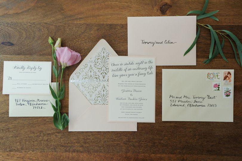 Fairy Tale Wedding Invitation Set