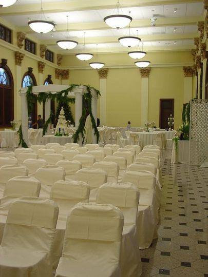 Christmas 2008 wedding