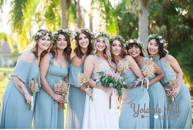 We love flower crowns - Yolanda Hill Photography