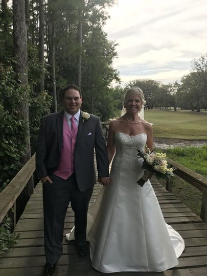 Is this not the happiest new Mr. and Mrs.