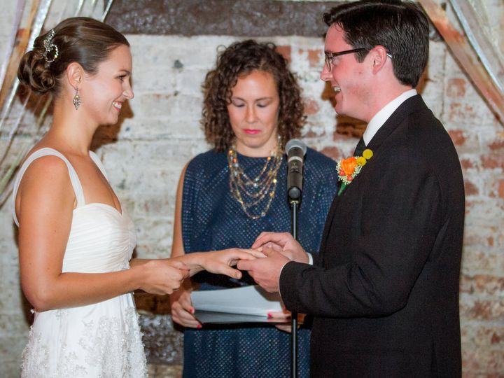 Tmx 1429046258350 Matt And Liz Wedding The Green Building Promise 00 Hoboken, New Jersey wedding beauty