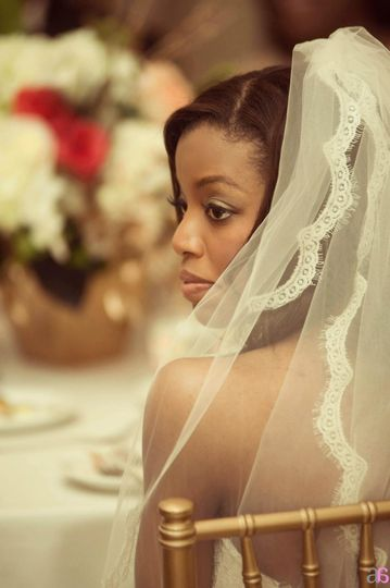 Beautiful Bride Raquel Maradiaga Photo Courtesy of ArtbyAsh Photography