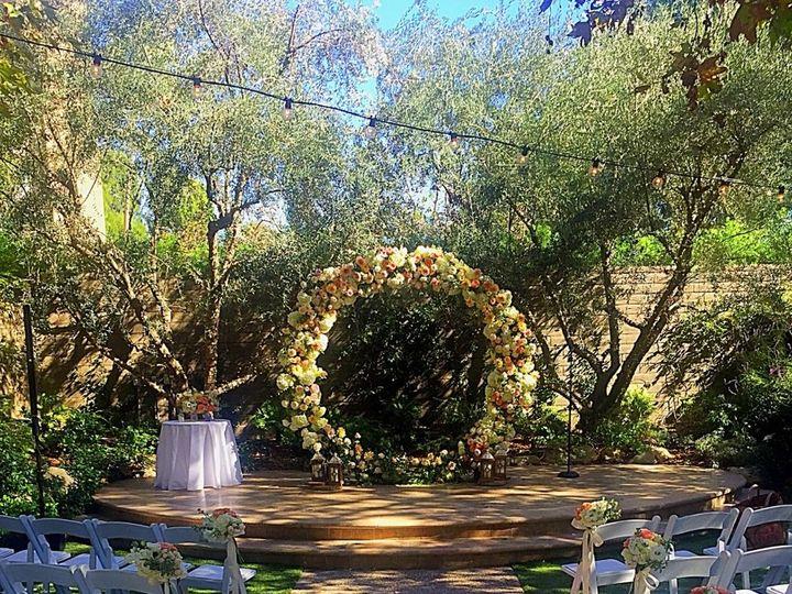 Tmx 1510334905424 Ceremony Backdrop Circle2 North Hollywood, CA wedding venue