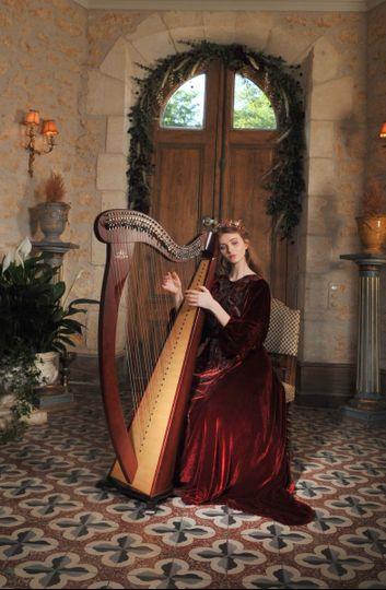 A medieval themed wedding