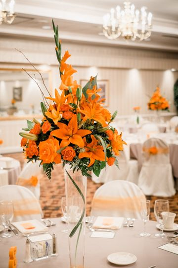 Photo Courtesy of Boyles Photography. Wedding in Shepherdstown, WV. Flowers by Love Flowers...
