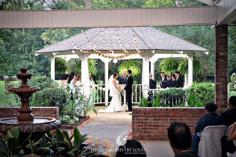 Pavilion weddings