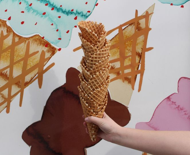 Waffle Cone Stack