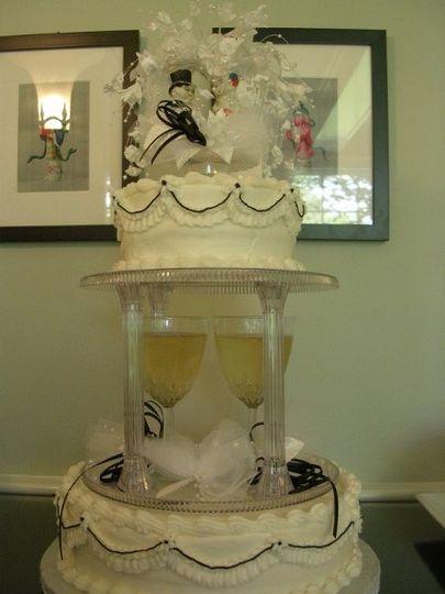 Shez Cakes and Crafts Wedding Cake Boston MA WeddingWire