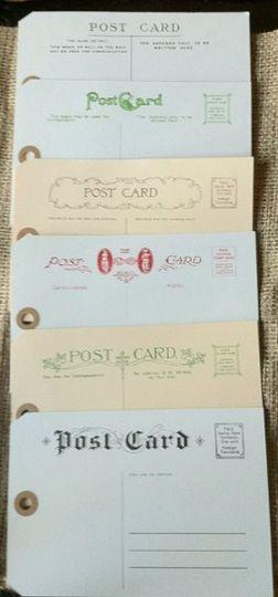 Vintage International Postcard Tags