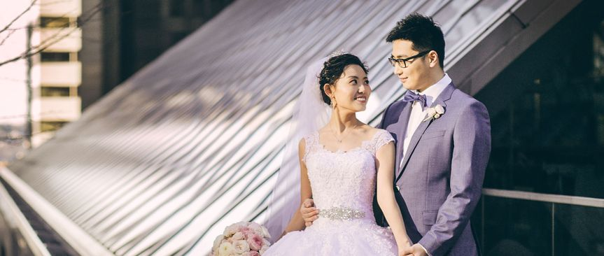 Tina and Zhan were married at the Renaissance Hotel in Seattle, WA