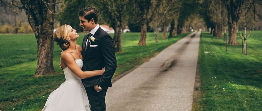 Haley and Spencer were married at Carnation Farms