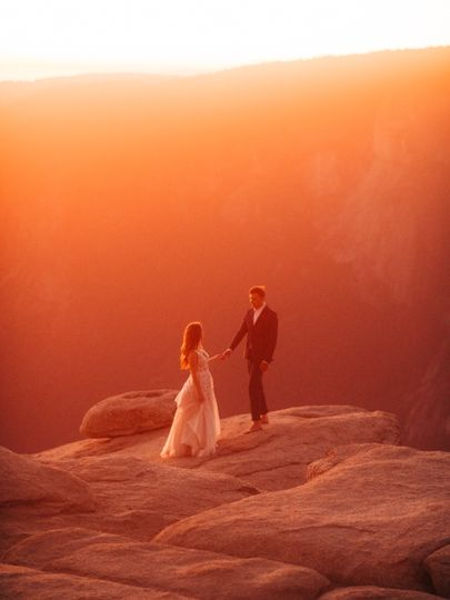 M&J Yosemite Wedding