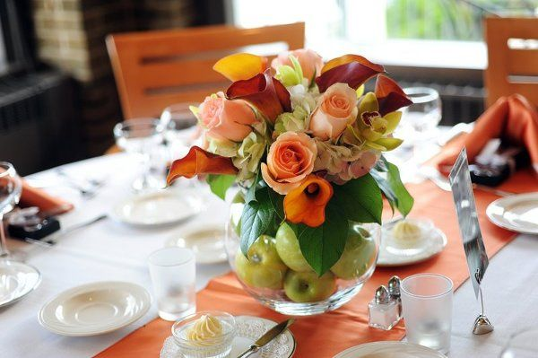 Summer table centerpiece