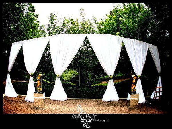 Tmx 1328676066098 WhitePolyCeremonySet Dania wedding rental