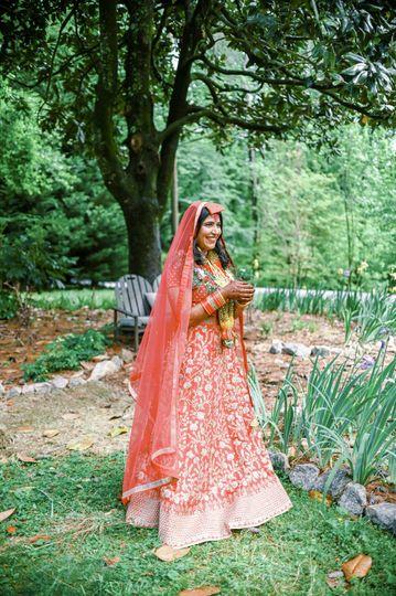 Nepali bridal attire